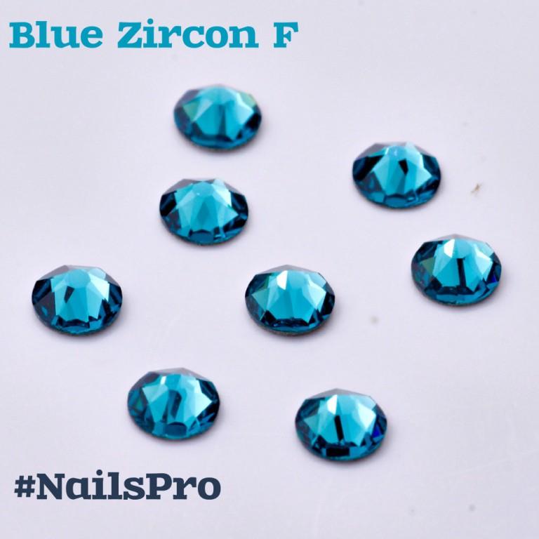 СВАРОВСКИ SS5 BLUE ZIRCON F 36шт