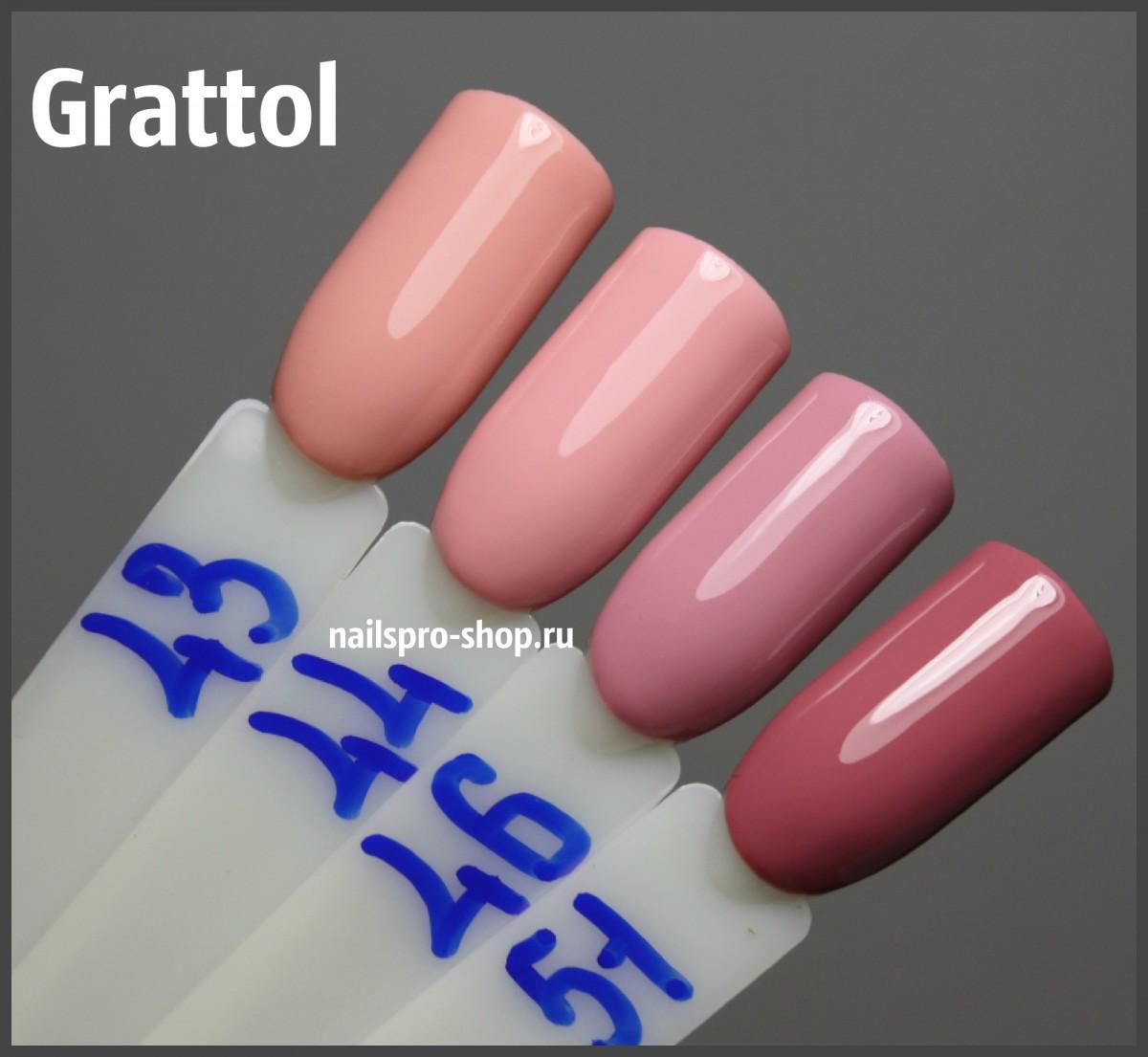 Grattol Color Gel Polish 044 Light Pink