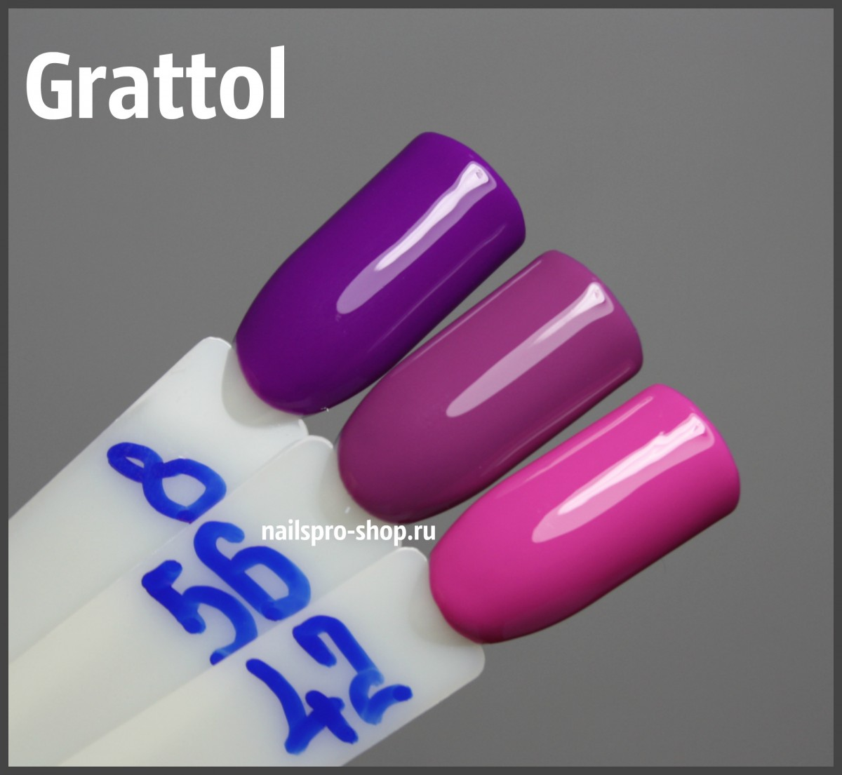 Grattol Color Gel Polish 056 Dark Orchid
