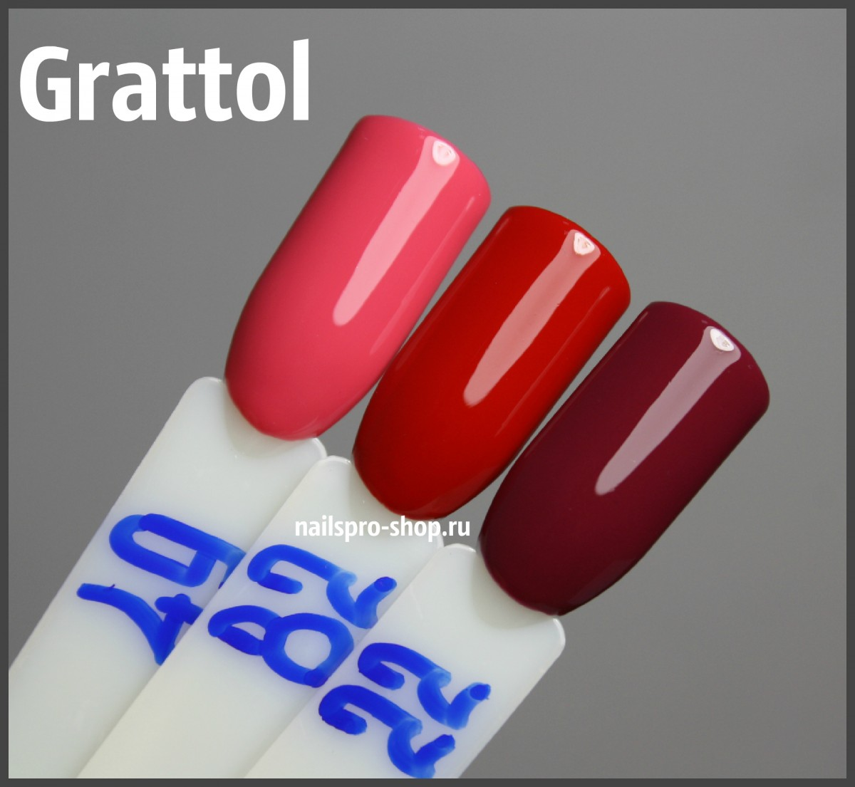 Grattol Color Gel Polish 082 Cherry Red