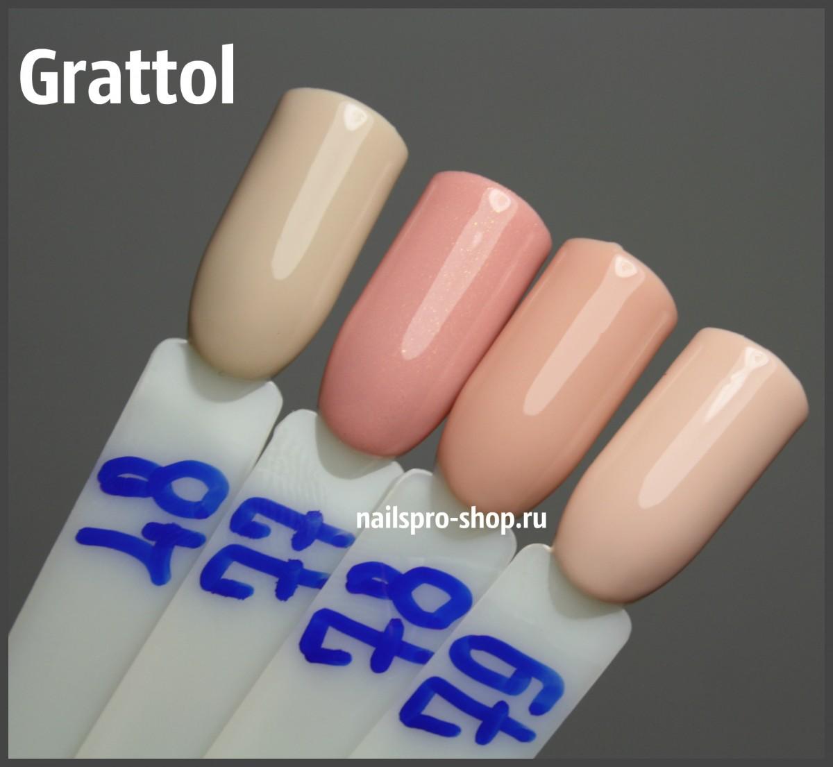 Grattol Color Gel Polish 079 Delicate Rose