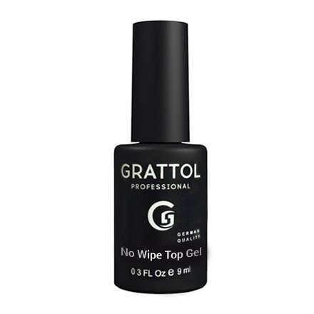 Grattol No Wipe Top Gel - Топ без липкого слоя